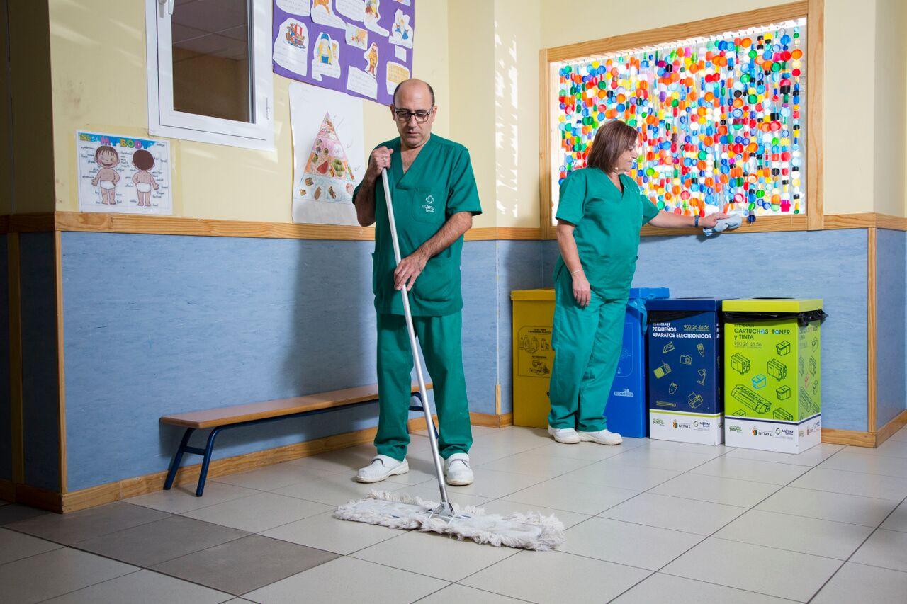 Limpieza de Colegios y Dependencias Municipales